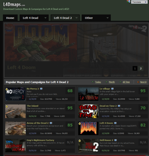 Left 4 Dead 2 custom maps download | Technology and Gaming at it's L D Maps on